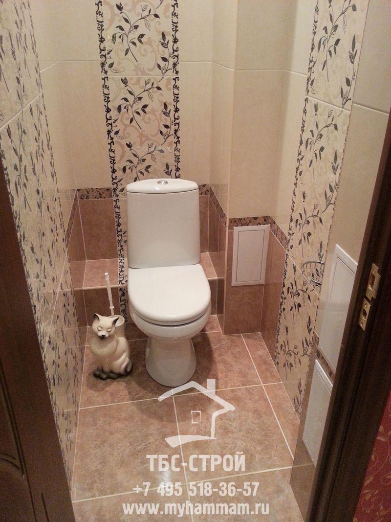 Ремонт туалета панелями в панельном доме